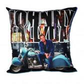 Johnny Hallyday motorcycle cushion