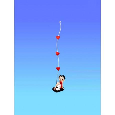 Deur foto Betty Boop hart