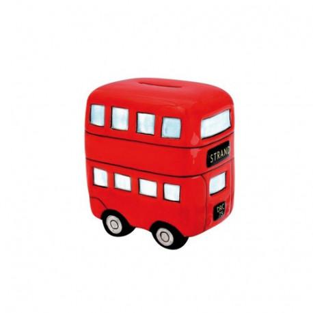 Piggy bank Bus Londen