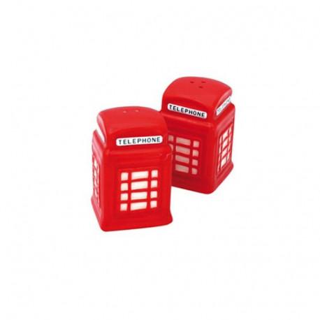 Salz und Pfeffer Kabine Telefon LONDON