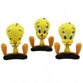 Trio di statuette Titi