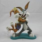 Beeldje Bugs Bunny & Lola