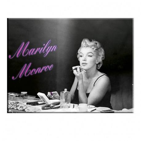 Placa metálica de Marilyn Monroe
