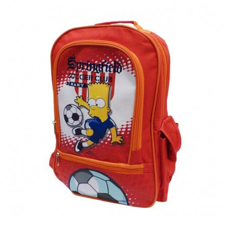 Sac à dos Bart Simpson rouge 40 CM