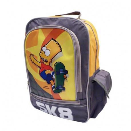 Sac à dos Bart Simpson gris 40 CM