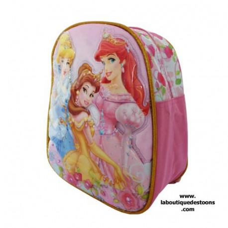 Mochila escolar materna princesa 25 cm