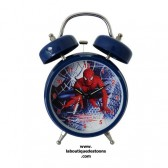 Reloj despertador azul Spiderman 18 CM
