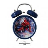 Wekker blauw Spiderman 18 CM