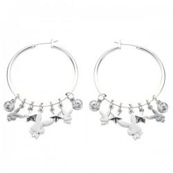 Playboy grote hoop Earrings hoop earrings