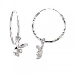 Playboy hoop Earrings hoop earrings