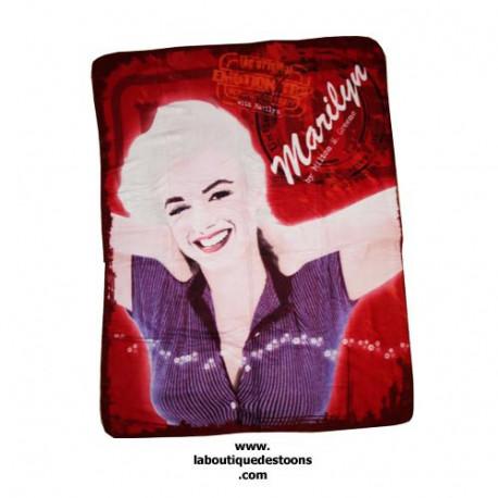 Fleece deken Marilyn Monroe