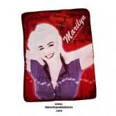 Fleecedecke Marilyn Monroe