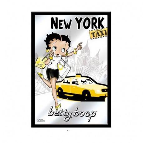 Espejo Betty Boop Nueva York Taxi