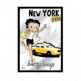 Miroir Betty Boop New York Taxi