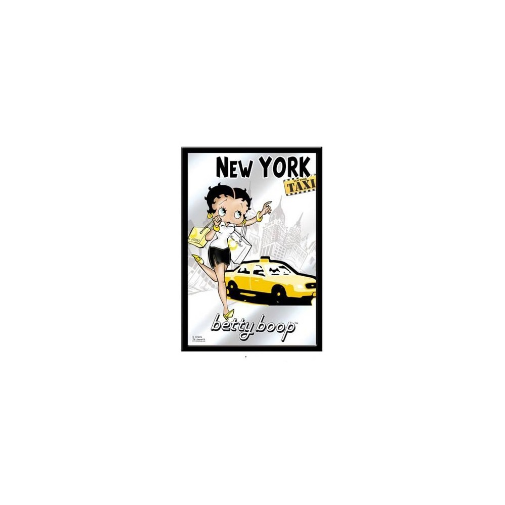 Miroir Betty Boop New York Taxi La Boutique Des Toons