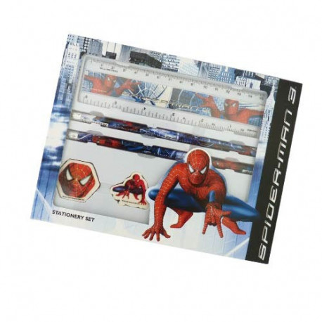 Set papeterie Spiderman 3