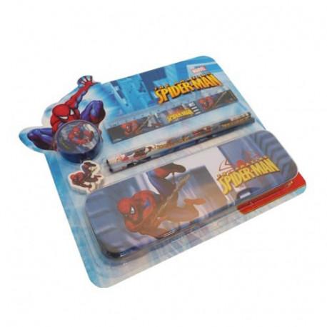 Spiderman-Briefpapier-Satz