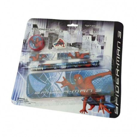 Set papeleria Spiderman 3