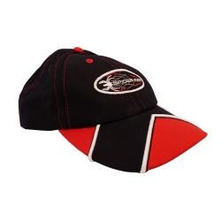 Spiderman nero & cappello rosso