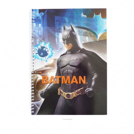 Wirebound A4 Batman