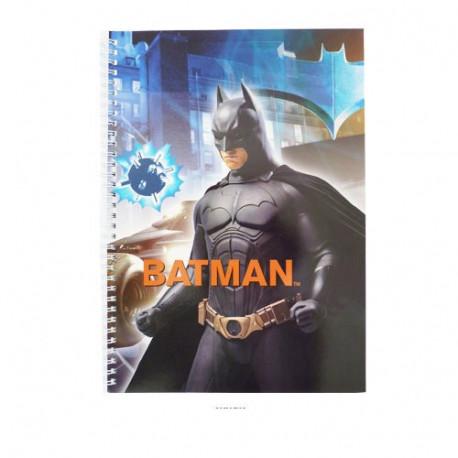 A4 Batman spiral book