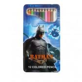 12 coloured pencils Batman