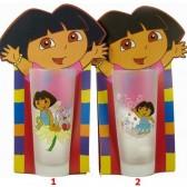 Vetro Dora l'esploratrice - numero di modello: Modello n ° 2