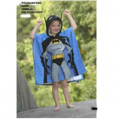 Toalla poncho Batman