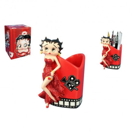 Betty Boop film red pencil pot