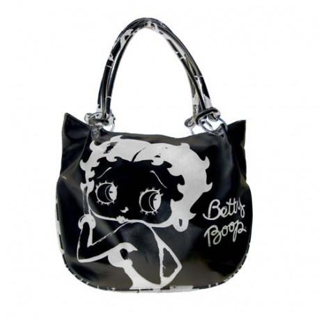 Negro de Betty Boop Fashion bolso