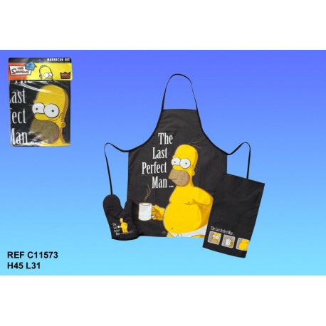 Set cuisine Homer Simpson