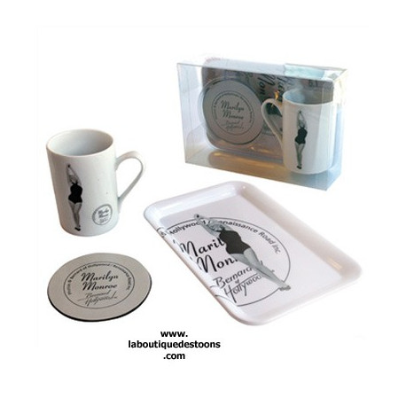 Boite cadeau Marilyn Monroe Noir & blanc