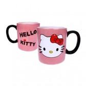 Taza 2D rosa Hello Kitty