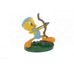 Figurina Tweety tiro tiro con l'arco