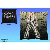 Leggenda di Johnny Hallyday cuscino