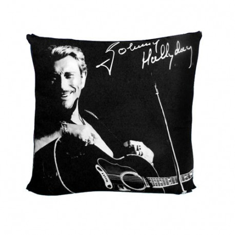 Cuscino di chitarra di johnny hallyday la boutique des toons for Miroir johnny hallyday