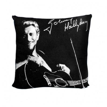 Johnny Hallyday guitar cushion