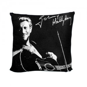 Johnny hallyday gitaar kussen la boutique des toons for Miroir johnny hallyday