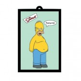 Miroir Homer Simpsons Gravity