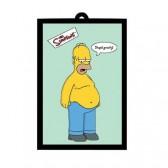 Spiegel Homer Simpsons zwaartekracht