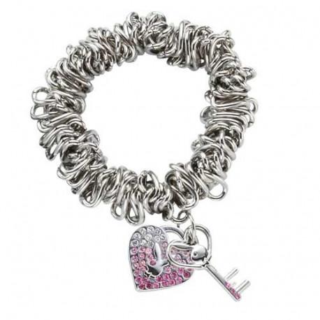 Bracelet Playboy Charms Coeur