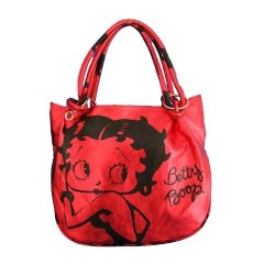 Handbag Betty Boop Fashion Red