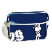 Bag see Snoopy blue Retro