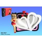 Miroir Betty Boop Coeur
