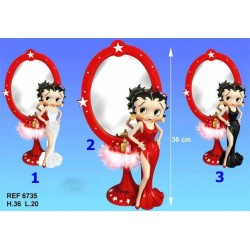 Spiegel van Betty Boop goddelijke - modelnummer: model n ° 2