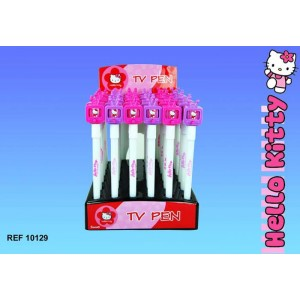 Stylo hello kitty tv couleur rose la boutique des toons - Hello kitty couleur ...