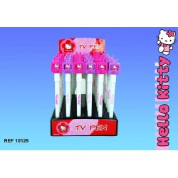 Pen van Hello Kitty TV - kleur: Violet
