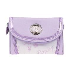 Porte monnaie Playboy violet GM