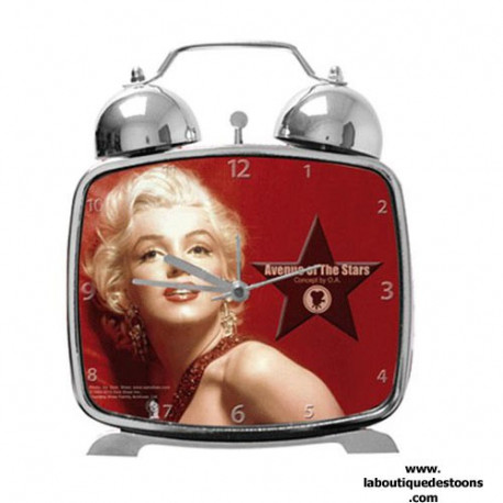 Alarm clock metal Marilyn Monroe Legend