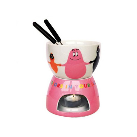 Fondue porcelaine Barbapapa united colors